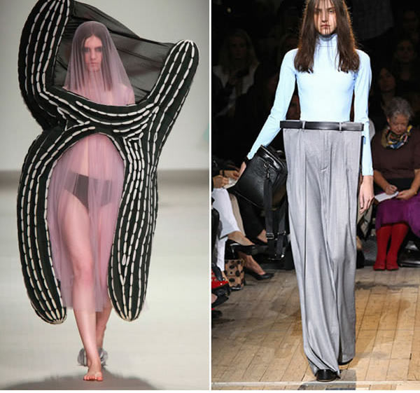 """Những mẫu váy áo """"doạ người"""" ít ai dám liều mặc - 13"""