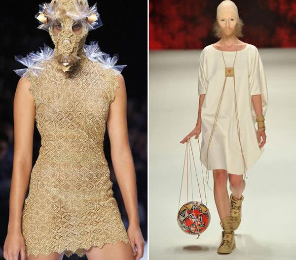 """Những mẫu váy áo """"doạ người"""" ít ai dám liều mặc - 14"""