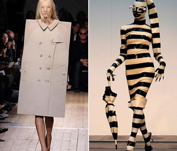 """Những mẫu váy áo """"doạ người"""" ít ai dám liều mặc - 16"""