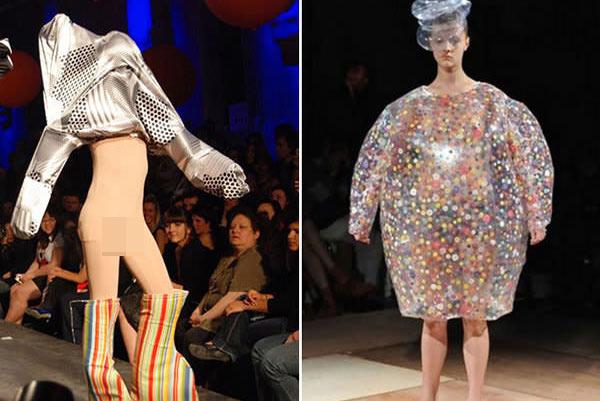 """Những mẫu váy áo """"doạ người"""" ít ai dám liều mặc - 7"""
