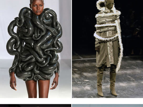 """Những mẫu váy áo """"doạ người"""" ít ai dám liều mặc - 10"""