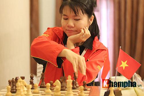 Kỳ thủ nữ số 1 VN vô địch giải cờ vua quốc tế 2016 - 1