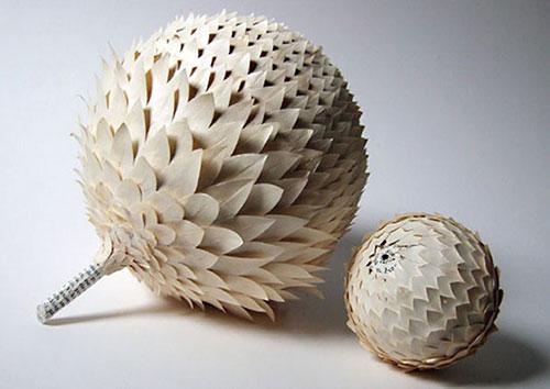 Bộ sưu tập đồ vật 3D bằng giấy tuyệt đẹp - 12