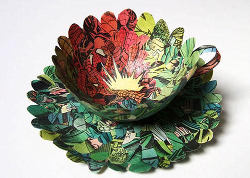 Bộ sưu tập đồ vật 3D bằng giấy tuyệt đẹp - 2