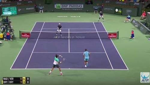 """Tin thể thao HOT 13/3: """"Quái vật 2 đầu"""" hạ Nadal - 1"""