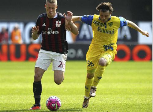 Chievo - Milan: Khung thành xa xăm - 1