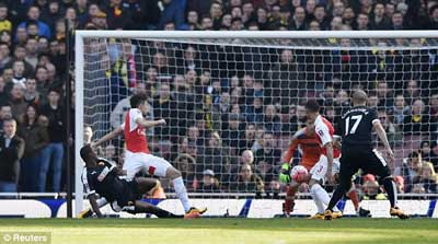 Chi tiết Arsenal - Watford: Chìm trong thất vọng (KT) - 5