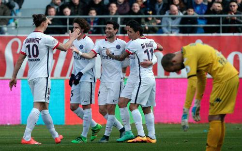 Video clip PSG vs Troyes - 1