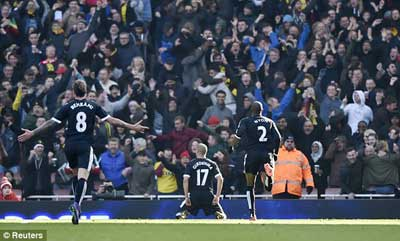 Chi tiết Arsenal - Watford: Chìm trong thất vọng (KT) - 6