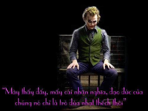 """11 câu thoại kinh điển của kẻ xấu Joker trong """"Người dơi"""" - 2"""