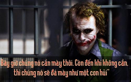 """11 câu thoại kinh điển của kẻ xấu Joker trong """"Người dơi"""" - 3"""