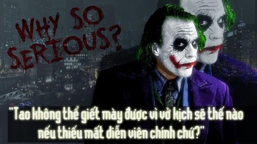 """11 câu thoại kinh điển của kẻ xấu Joker trong """"Người dơi"""" - 4"""