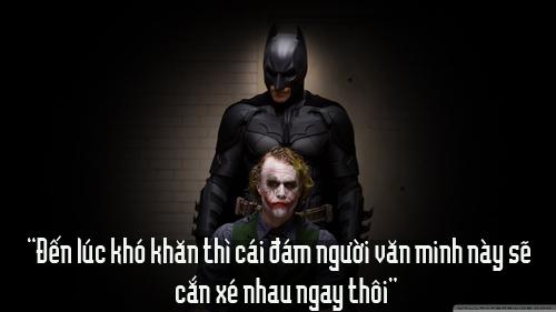 """11 câu thoại kinh điển của kẻ xấu Joker trong """"Người dơi"""" - 5"""