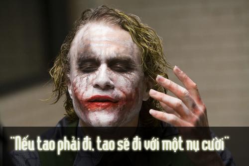 """11 câu thoại kinh điển của kẻ xấu Joker trong """"Người dơi"""" - 9"""