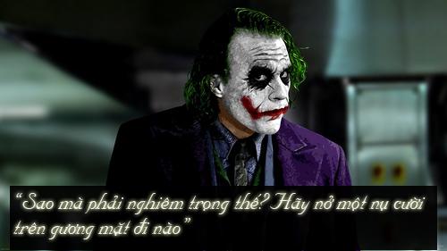 """11 câu thoại kinh điển của kẻ xấu Joker trong """"Người dơi"""" - 10"""
