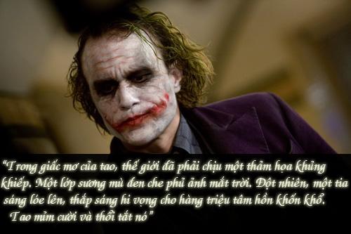 """11 câu thoại kinh điển của kẻ xấu Joker trong """"Người dơi"""" - 11"""