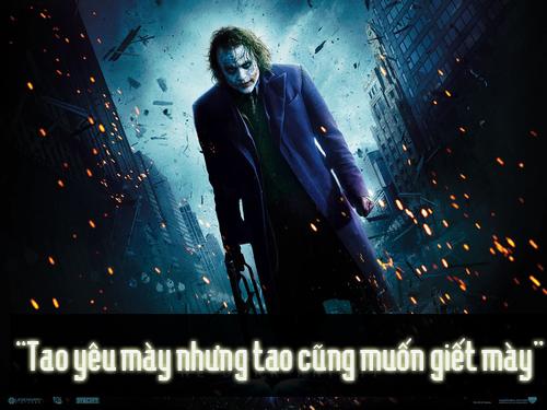 """11 câu thoại kinh điển của kẻ xấu Joker trong """"Người dơi"""" - 7"""