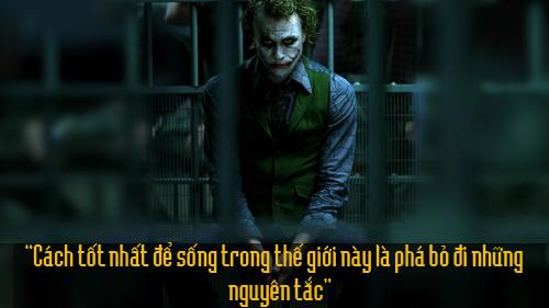 """11 câu thoại kinh điển của kẻ xấu Joker trong """"Người dơi"""" - 8"""
