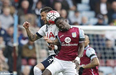 Chi tiết A.Villa - Tottenham: 3 điểm nhẹ nhàng (KT) - 4