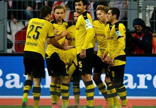 Dortmund - Mainz 05: Bám vững đường đua - 1