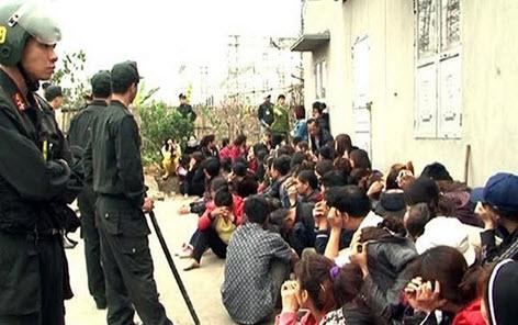 """Hơn 430 triệu đồng trong sới bạc """"khủng"""" ở Quảng Ninh - 1"""