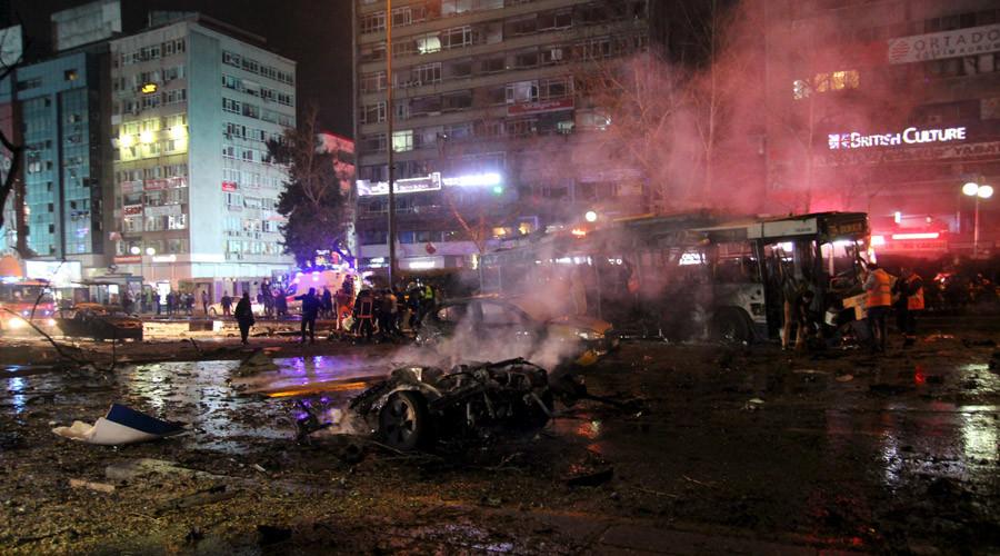 Đánh bom đẫm máu ở thủ đô Thổ Nhĩ Kỳ, 34 người chết - 1