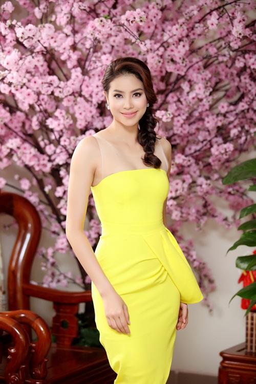 Phạm Hương xinh đẹp rạng ngời nhờ tăng cân đúng ý - 7