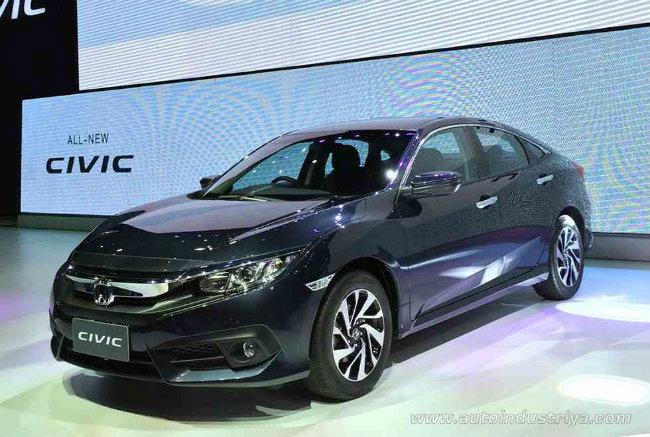 Mẫu Honda Civic 2016 vừa được tung ra thị trường Thái Lan với giá bán khởi điểm chỉ 8.69.000 baht (khoảng 552,5 triệu đồng). Đây cũng là lần đầu tiên một thị trường ở châu Á, ngoài khu vực Bắc Mỹ, được Honda phân phối mẫu xe Civic thế hệ mới nhất này.