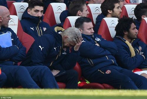 """Arsenal bị loại FA Cup: Chờ """"Giáo sư"""" Wenger về vườn - 2"""