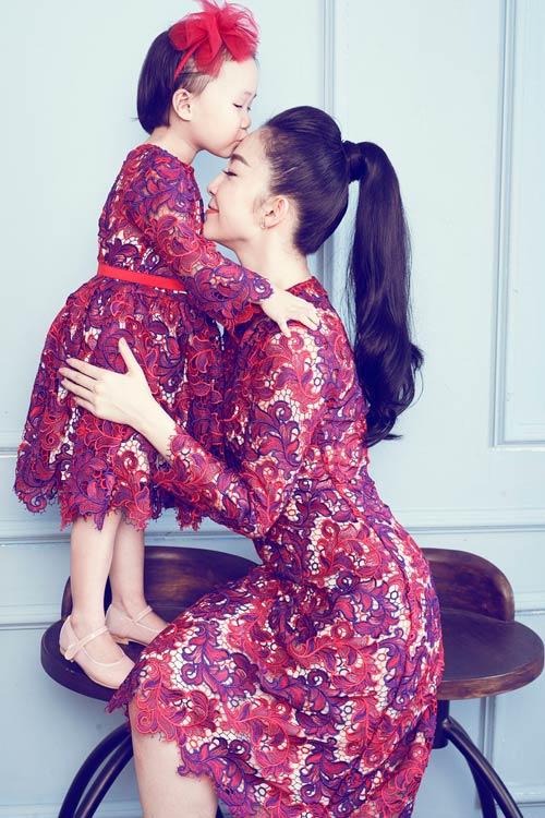 """Linh Nga: """"Tôi luôn mang con gái đi diễn cùng"""" - 3"""