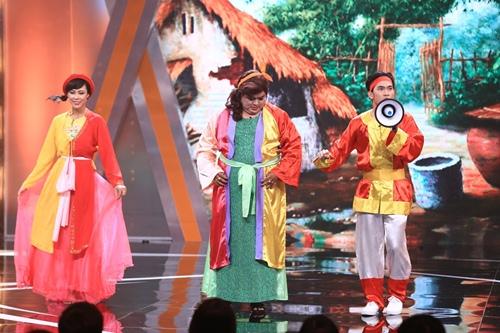 Gil Lê bảnh bao, lịch lãm khoe giọng trên sân khấu hài - 7