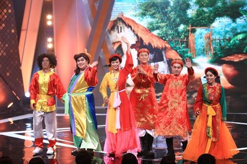 Gil Lê bảnh bao, lịch lãm khoe giọng trên sân khấu hài - 9