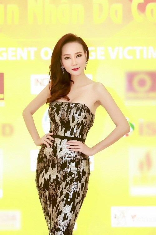 Dương Yến Ngọc diện váy sequin lộng lẫy khoe đường cong - 1