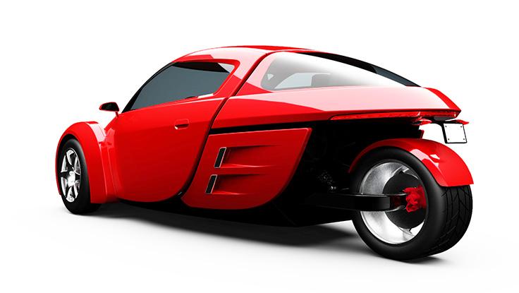 Top 10 mẫu xe 3 bánh vô cùng độc đáo (P2) - 7