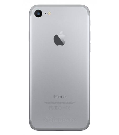 iPhone 7 lộ vị trí camera, giắc cắm qua lớp vỏ - 2