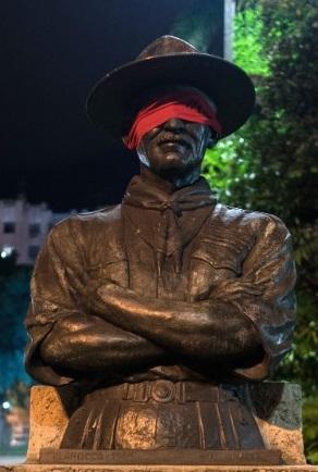 Brazil: Dân bịt mắt tượng đài để phản đối chính quyền - 5