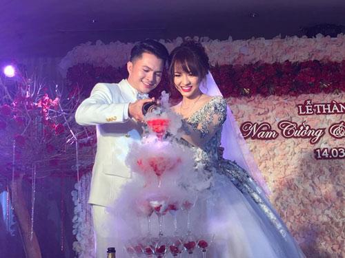 Nam Cường bí mật tổ chức đám cưới với nữ sinh ngân hàng - 7