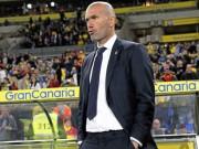 Bóng đá Tây Ban Nha - Real thắng nhọc, Zidane vừa giận vừa lo cho học trò