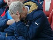 """Bóng đá Ngoại hạng Anh - Arsenal bị loại FA Cup: Chờ """"Giáo sư"""" Wenger về vườn"""
