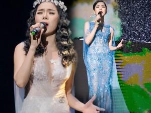 Váy hot nhất tuần: Đầm xuyên thấu kỳ công của Lệ Quyên