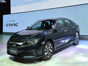 Honda Civic 2016 ra mắt tại Đông Nam Á, giá 552 triệu đồng