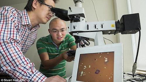 Vật liệu mới giúp tạo ra ống kính siêu mỏng - 1