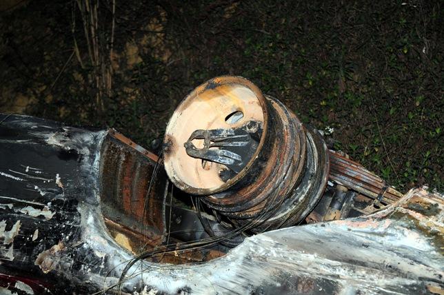 Xe bồn tông xe khách bốc cháy: Ùn tắc gần 20km - 11