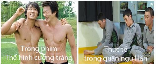"""Lính trong phim Hàn và thực tế """"khác nhau trời vực"""" - 5"""