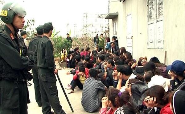 """Xác định nhóm cầm đầu sới bạc """"khủng"""" ở Quảng Ninh - 1"""