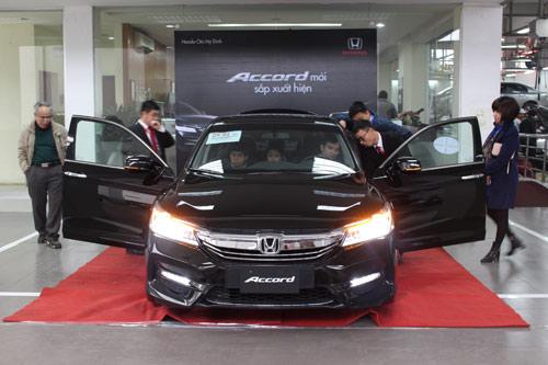Honda Accord 2016 chính thức xuất hiện! - 4