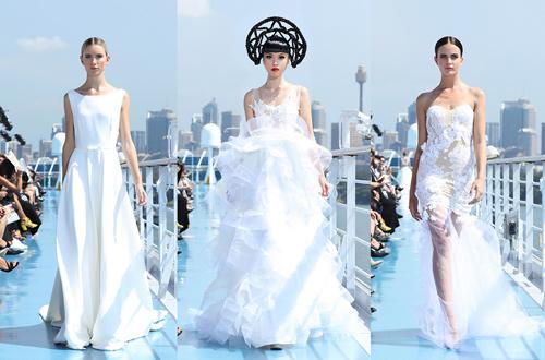 Jessica Minh Anh khoe thời trang tóc kỳ dị ở Australia - 9