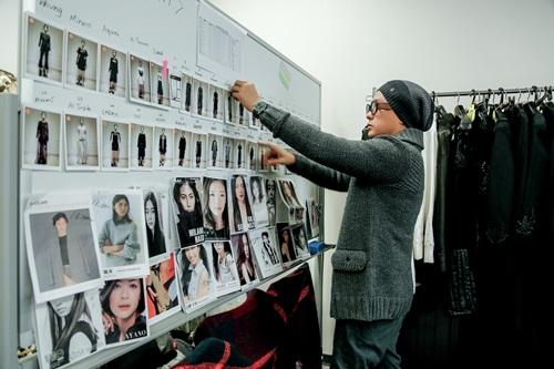 Công Trí tất bật chuẩn bị cho Tokyo Fashion Week - 3