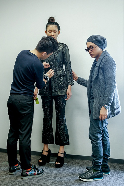 Công Trí tất bật chuẩn bị cho Tokyo Fashion Week - 8