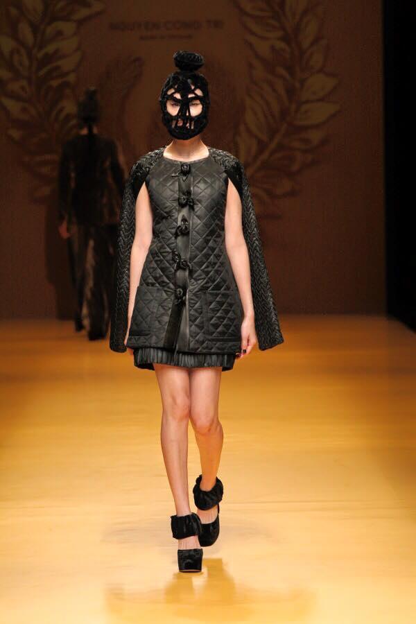 Mẫu mang mặt nạ của Công Trí gây chú ý ở Tokyo - 8